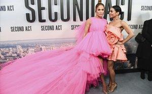 Jennifer Lopez, en el estreno en Nueva York de Second Act.