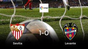 Los tres puntos se quedan en casa: Sevilla 1-0 Levante