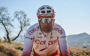 Luis Ángel Maté, ciclista del conjunto Cofidis.