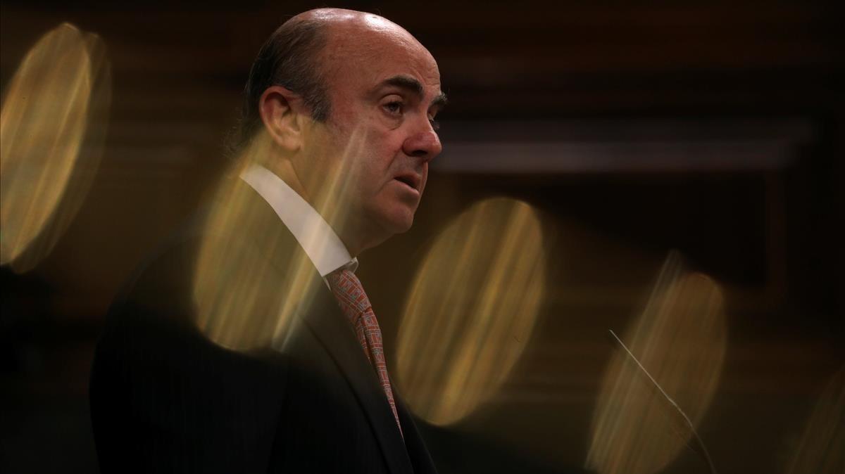 Luis de Guindos, nuevo vicepresidente del BCE.