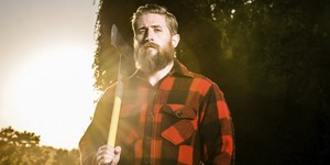 Un exemple destil lumbersexual.