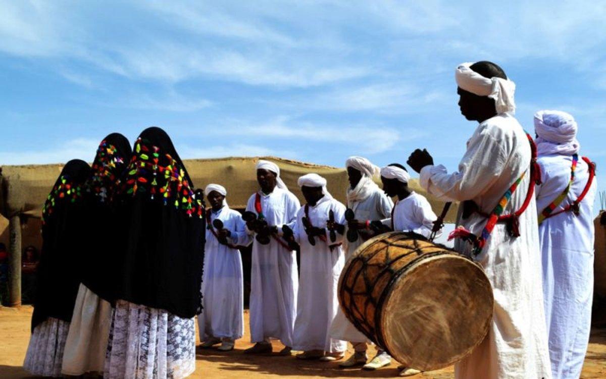 Música negra Gnawa de Marruecos.