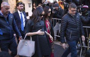 Meghan Markle se dirige a su baby shower en un hotel de Nueva York.