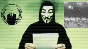 Mensaje de Anonymous difundido en noviembre del 2015 sobre ciberataques a la web del Estado Islámico.