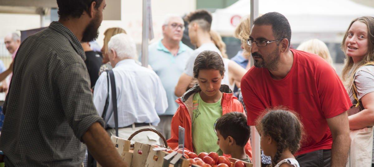 El mercado del tomate, en la edición del 2019.