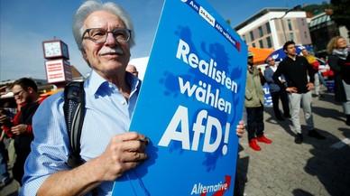 El avance ultraderechista inquieta a Alemania en vísperas electorales