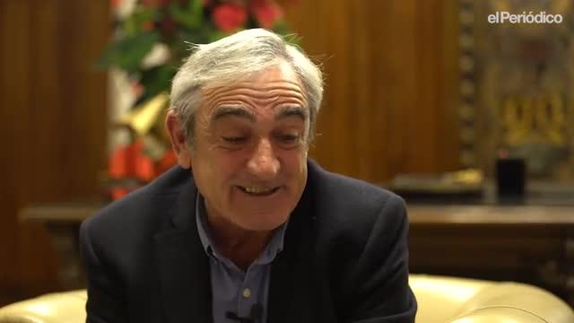 El minuto indiscreto de Alfredo Vega, alcalde de Terrassa.