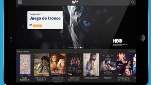 Oferta de televisión a la carta de Movistar +
