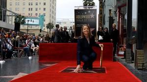 Jodie Foster ya tiene su estrella en el Paseo de la Fama.