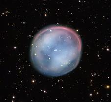 La nebulosa, fotografiada por el Very Large Telescope el 3 de agosto, en el norte de Chile.