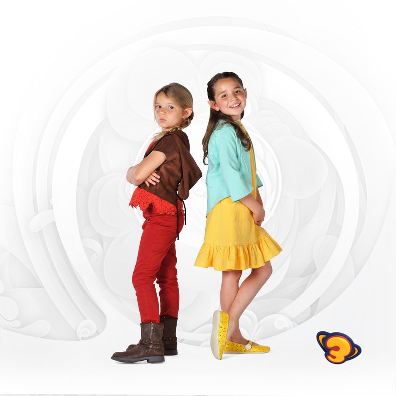 Nenúfar y Matoll, los nuevos personajes del Super 3.