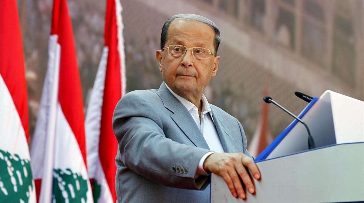 Presidente libanés reitera compromiso de recuperar territorio ocupado