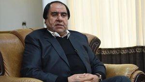 El expresidente de la federación afgana de fútbol Keramuddin Karim