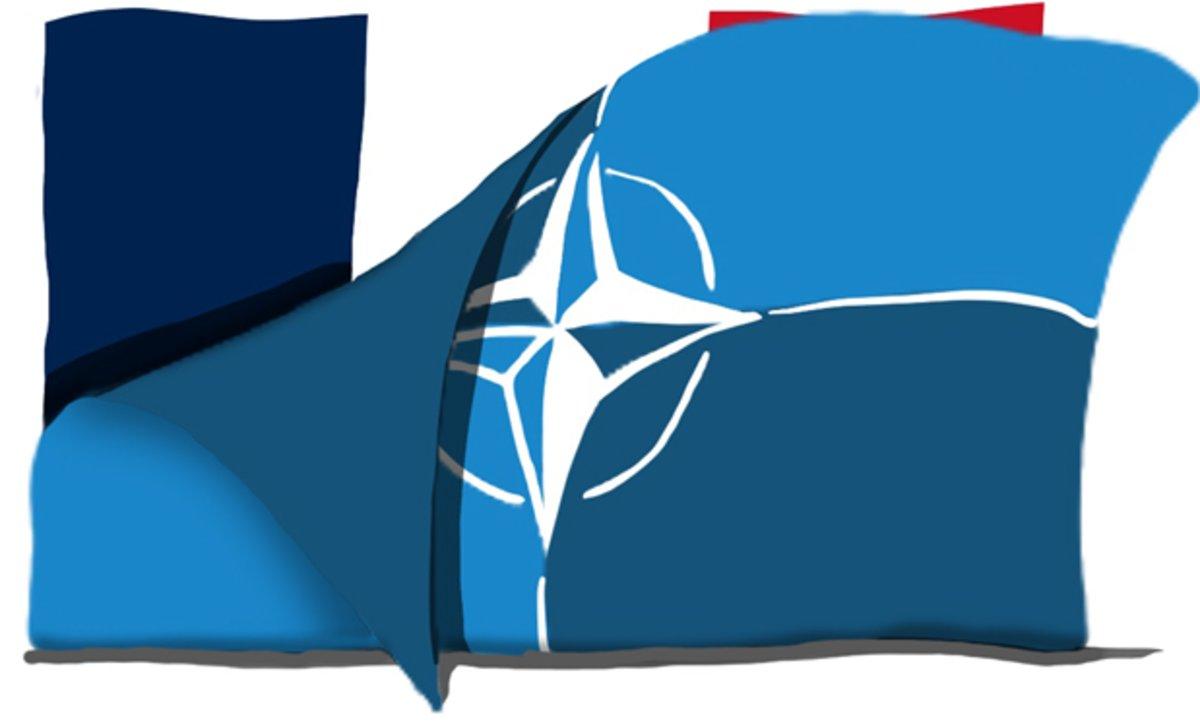 Macron apuntilla a la OTAN