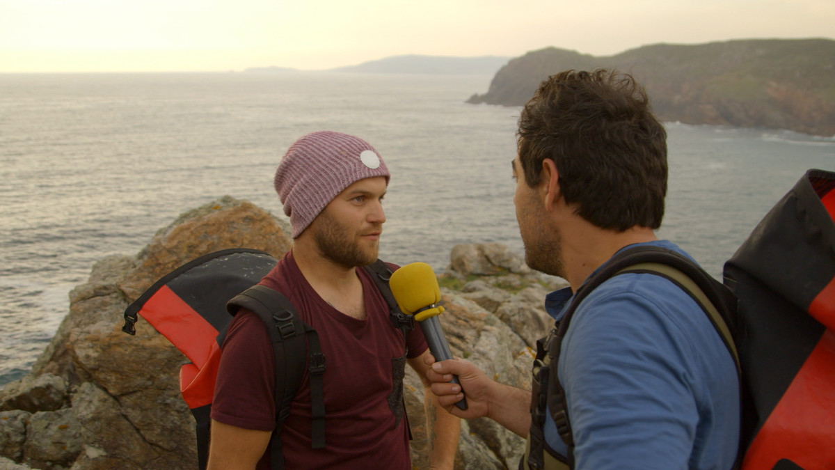 Pablo Chiapella en Sardiñeiro, el próximo destino de El paisano.