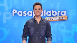 Christian Gálvez también presenta la nueva edición del concurso de Tele 5 Pasapalabra en familia.