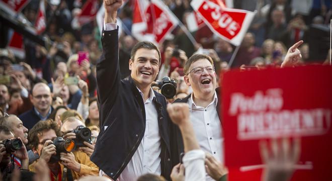 Pedro Sánchez insiste en que no votar al PSOE es apoyar al PP