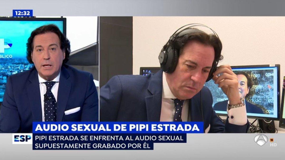 Pipi Estrada se defiende en 'Espejo público' tras la filtración de su supuesto audio sexual