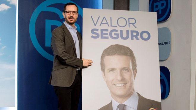 El PP presenta la campaña 'Valor seguro'.
