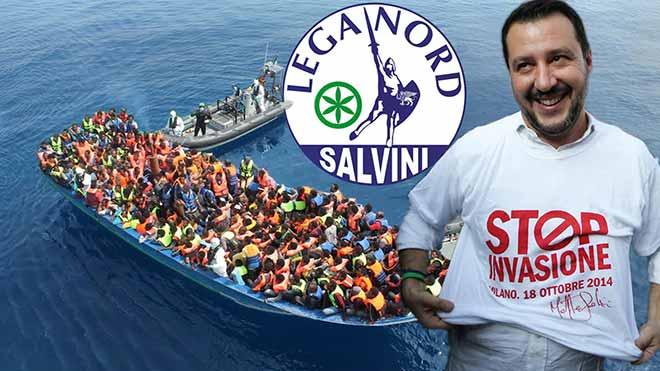 Racismo en Italia: El ultraderechista Matteo Salvini cierra el puerto a los barcos de las ONG.