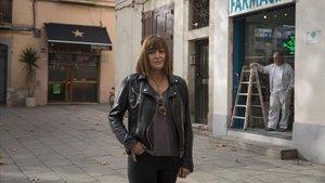 Silvia Berna recuerda que «era muy divertido cuando celebraban bodas de tres días» en este rincón de Gràcia.