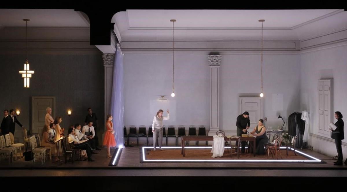 Una escena de 'Ariadne auf Naxos', en la nueva producción de Katie Mitchellestrenada en el Festival de Aix-en-Provence.