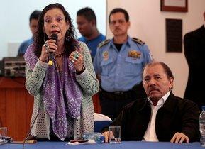 Rosario Murillo, además de ser la esposa del presidente de Nicaragua, es la vicepresidenta del país.