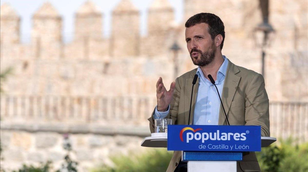 Casado demana a Cs «remar en la mateixa direcció»: «On el PP suma, Espanya guanya»