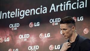 Fernando Torres, en un acto publicitario este lunes.