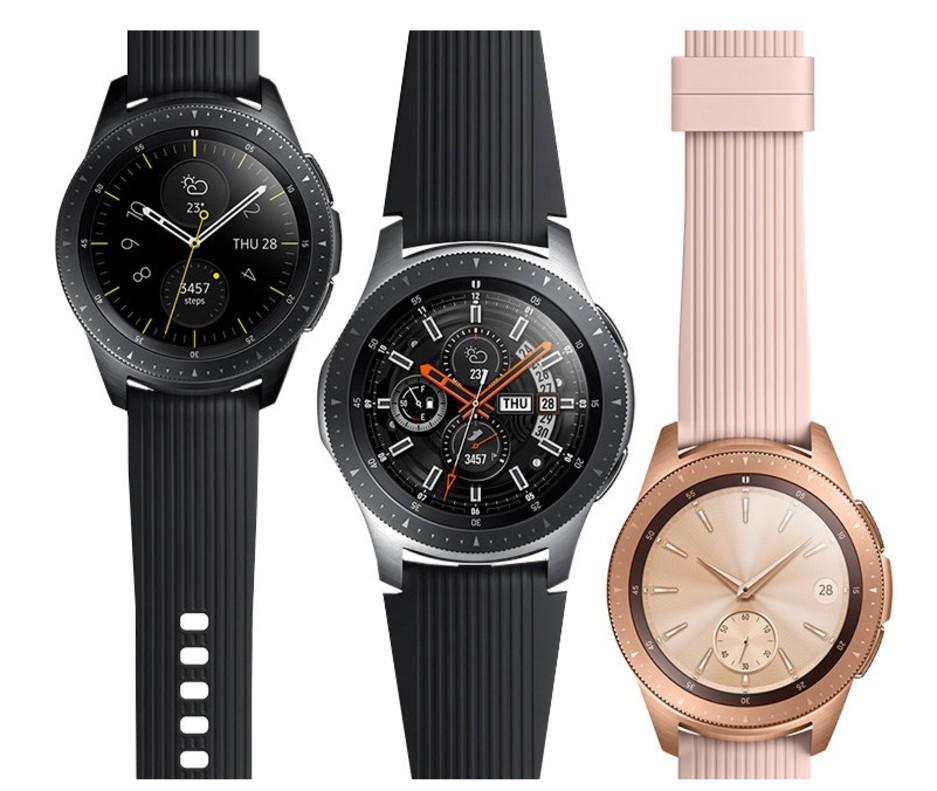 Nuevo modelo del reloj conectado de Samsung.
