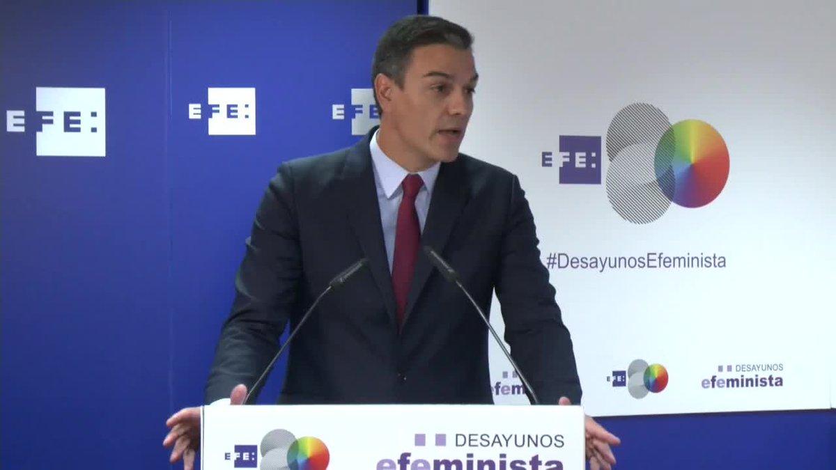 Sánchez desde la Agencia EFE dice;'Saber negociar es querer negociar no imponer sino acordar'.