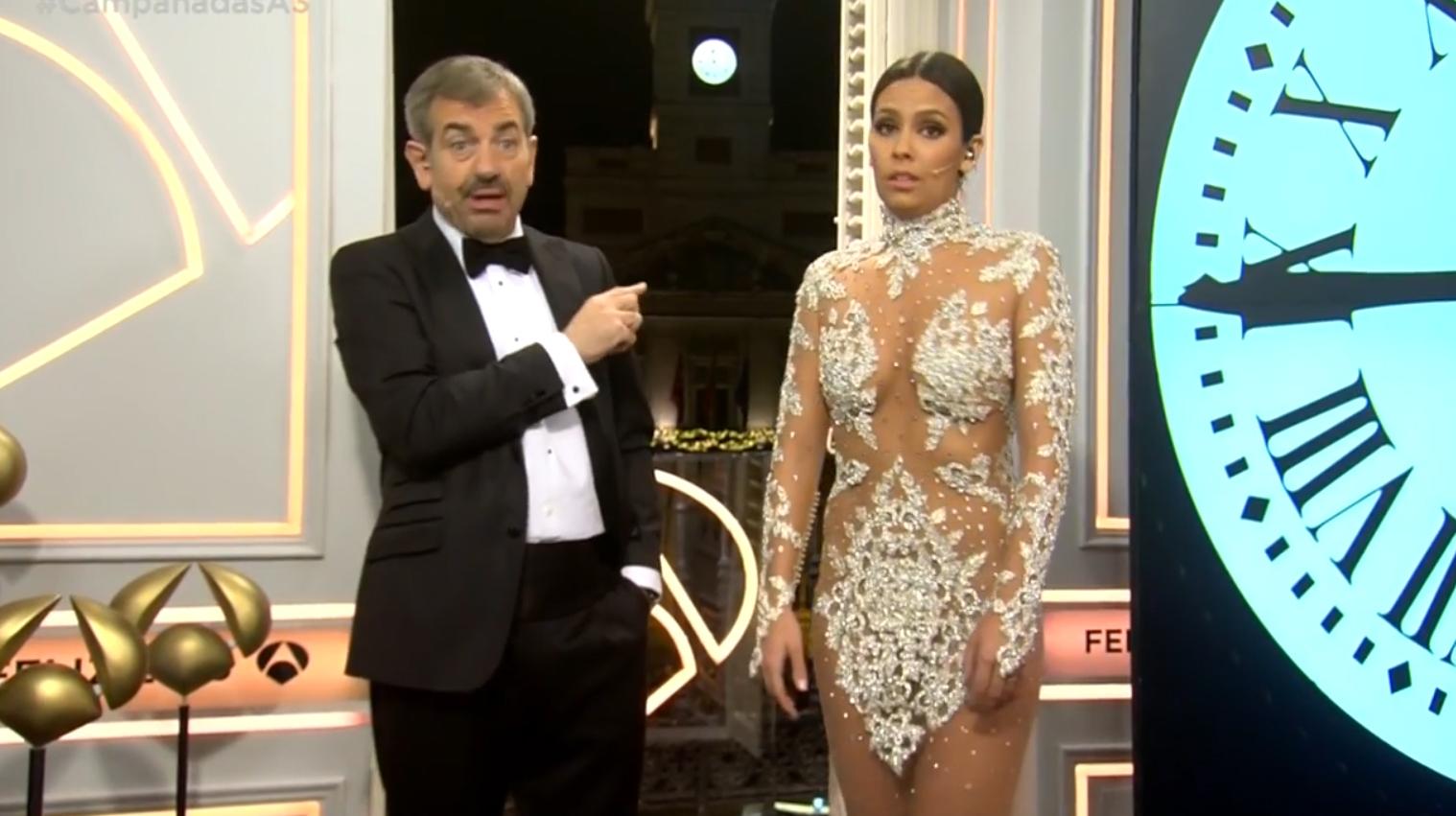 Cristina Pedroche desvela el seu vestit per a les campanades.