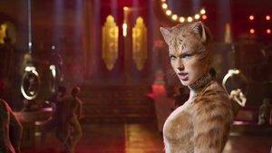 Taylor Swift, en un fotograma de 'Cats'