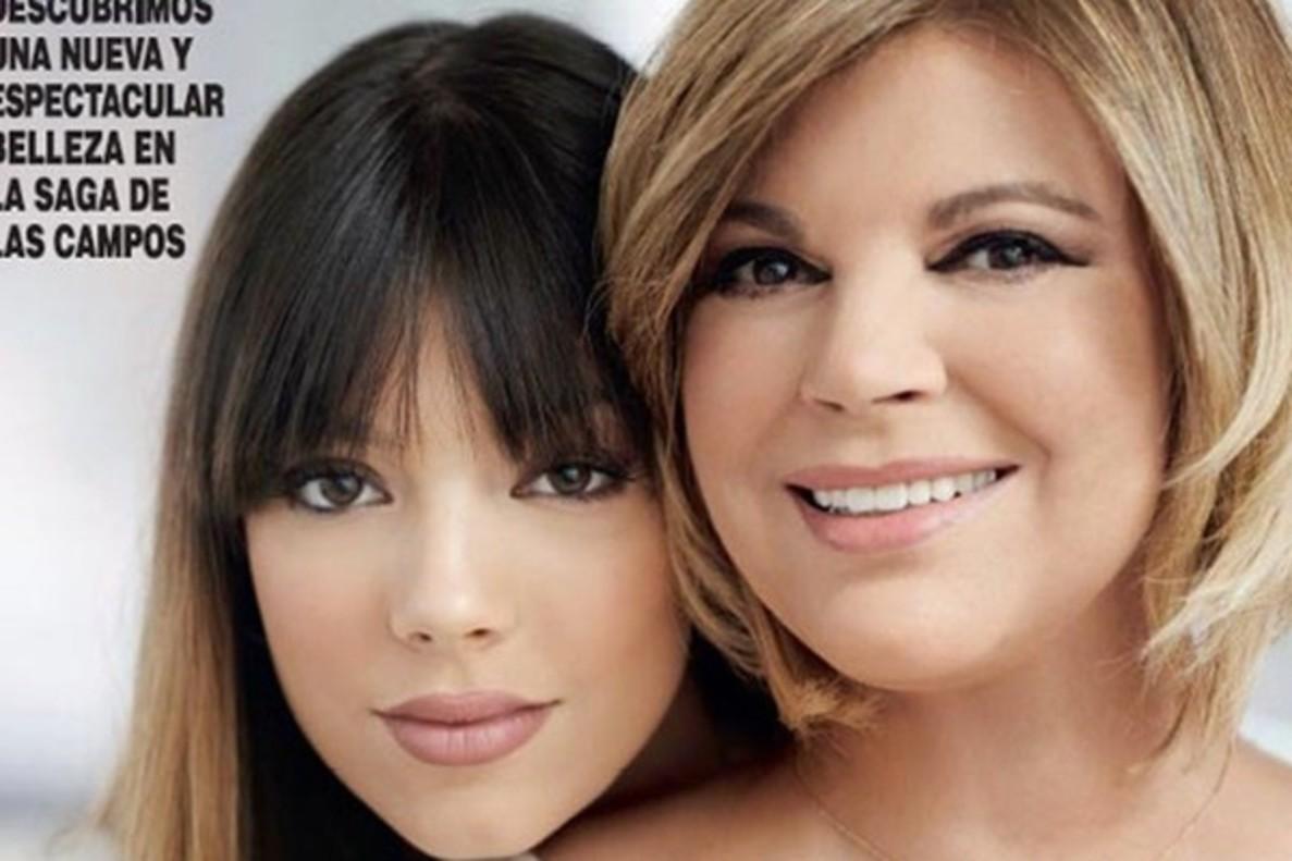 Terelu Campos presenta a su hija, que ya es mayor de edad