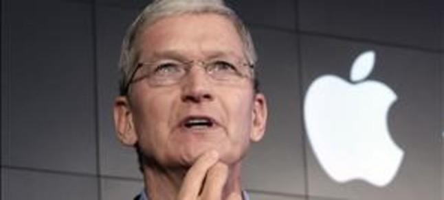 Tim Cook, director ejecutivo de Apple.