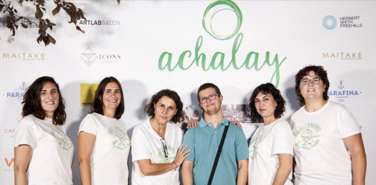En la actualidad son cerca de 3.000 las personas que han logrado tener una oportunidad y formación gracias a Achalay.