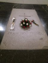 Tumba de Franco en el Valle de los Caídos.