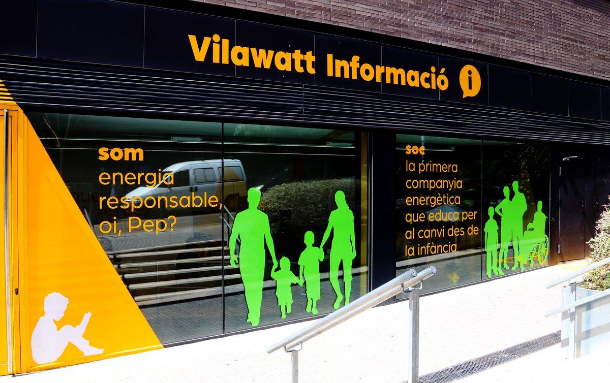 Una imagen de Vilawatt, la nueva compañía eléctrica de Viladecans.