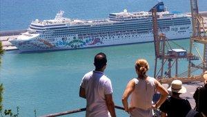 Un crucero en Barcelona.