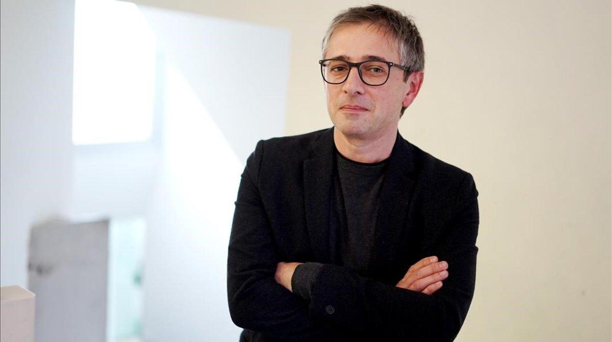 Drashko Kostovski, responsable de educación sexual de la Federación Internacional de Planificación Familiar, tras participar en unas jornadas en Madrid.