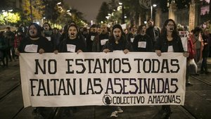 Manifestación en Sevilla el pasado 25 de noviembre con motivo del Día Internacional contra la Violencia Machista.