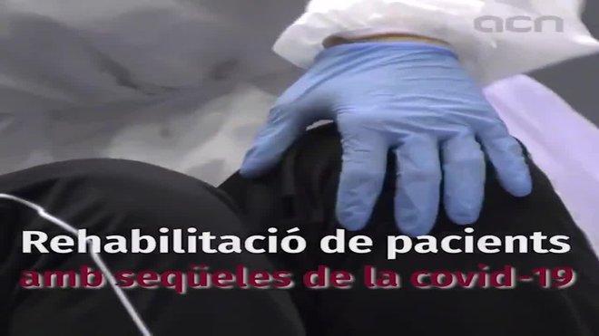 Els pacients post Covid-19 fan rehabilitació per recuperar la mobilitat