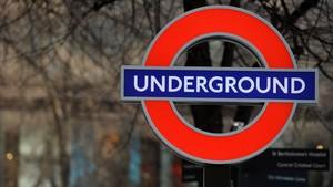 La estación de metro de Holborn, en Londres.