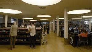 El nou institut 22@ s'instal·larà sobre una biblioteca