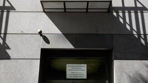 Una fincade apartamentos turísticos en Lavapiés, denunciada por los vecinos.