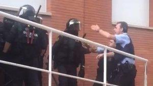 L'Audiència de Barcelona justifica les càrregues de la Guàrdia Civil l'1-O