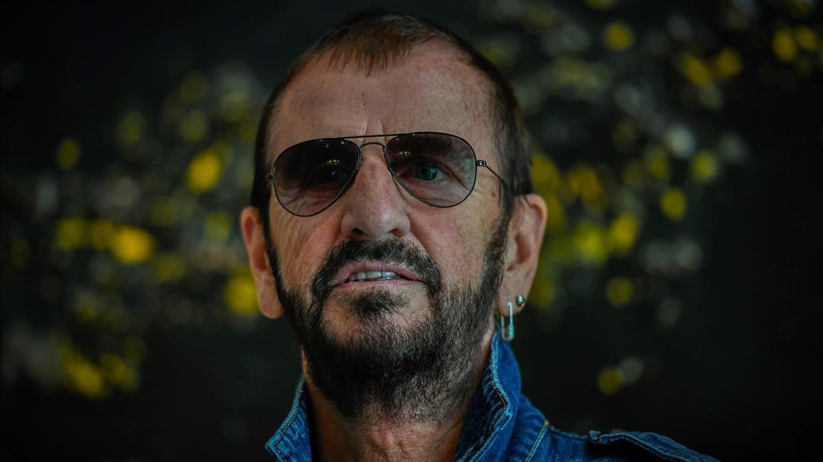 Ringo Starr, en París, este miércoles.