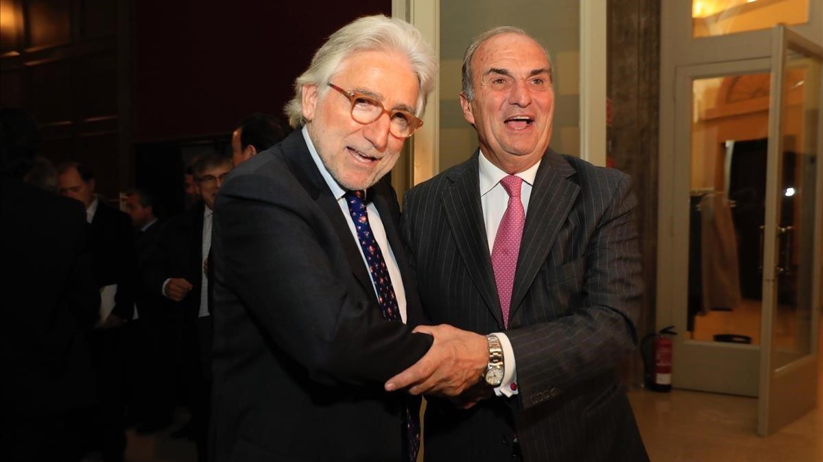 Josep Sánchez Llibre ya preside Foment del Treball