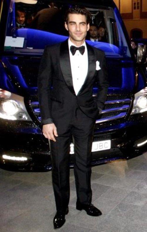 El modelo Jon Kortajarena.