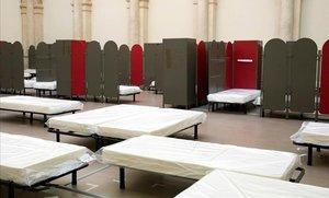 L'Ajuntament de París obre les portes a les dones sense sostre